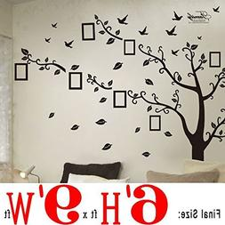 DaGou Huge 6' Ft X 9' Ft, Memory Family Tree Photo 1set DIY