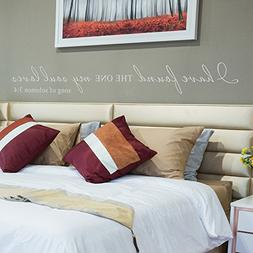 I Have Found the One Whom My Soul Loves Wall Decal Religious