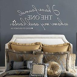 BATTOO I Have Found the One Whom My Soul Loves Wall Decal -