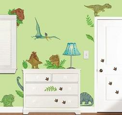 IN DINOSAUR LAND GiaNT WALL DECALS 37 New Dinosaurs Stickers