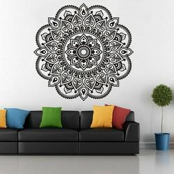 indian mandala wall sticker removable decal diy