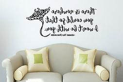 Inspired by Moana Wall Decal Sticker There Is Nowhere You Co
