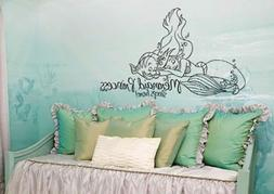 Inspired by The Little Mermaid Wall Decal Sticker Princess S