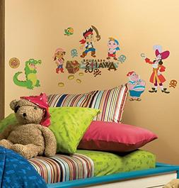 Jake and the Neverland Pirates Peel & Stick Wall Decals 10 x