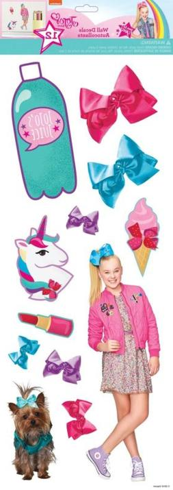 JOJO SIWA Cute & Confident 12 Wall Decals Unicorn Joelle Joa