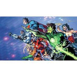 Justice League XL Mural Comics Super Heroes Kids Room Remova
