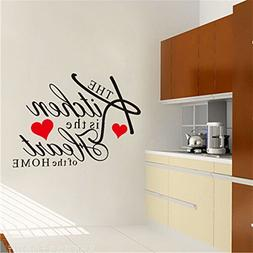 TraveT The Kitchen Is The Heart Of The Home Wall Stickers Re