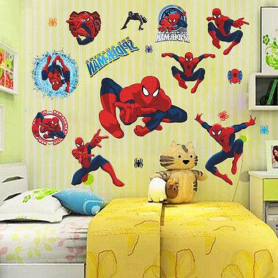 10 Avengers Wall Decals Vinyl Sticker Kids