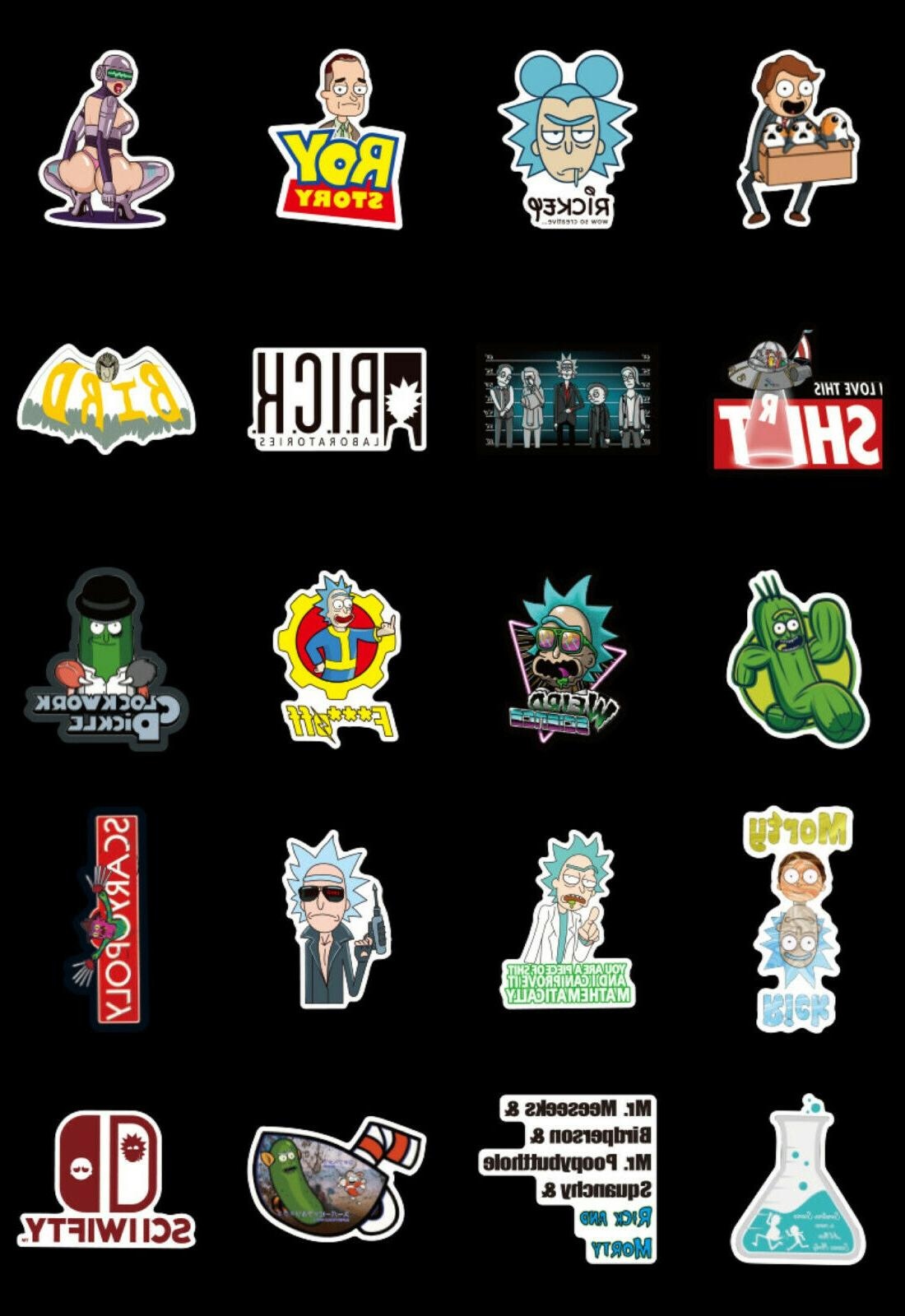 100pcs vinyl Stickers Character Stickers, USA SHIPPING!
