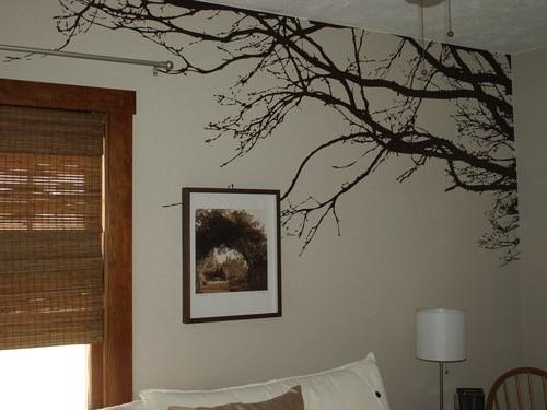 1130 tree branches wall decal