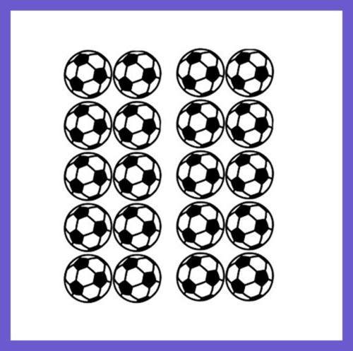 BIBITIME Soccer Ball Sticker For Bedroom Cup Sport