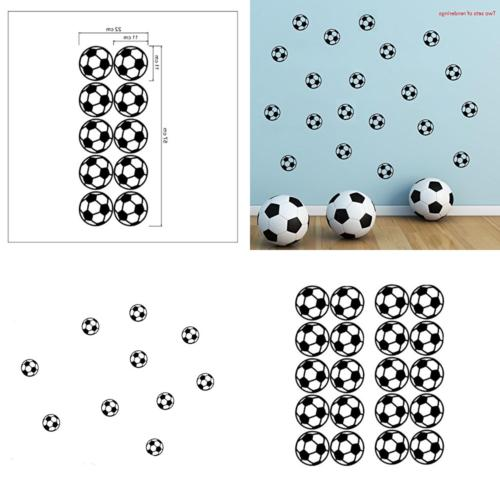 BIBITIME 11X11cm Sticker Wall Decal For Bedroom World Cup Sport