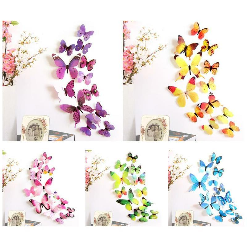 12pcs Art Design Wall Decoration