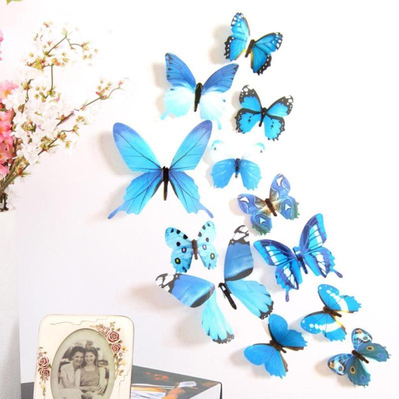 12pcs Art Design PVC Wall Kids Decoration