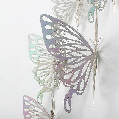 24/12 PCS Butterfly Wall Home Room Decorations DIY Decor