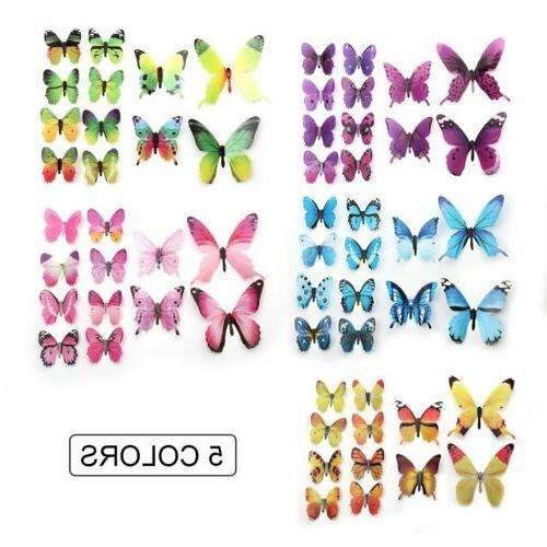 24Pcs 3D Stickers Home Room