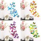 12pcs Fashion Decal Wall Stickers Papers Home Room Decor 3D