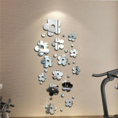 USA Mirror Sticker Art Decal Wall Removable