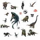 19 Jurassic World 2 Dinosaurs Wall Stickers T-Rex Velocirapt