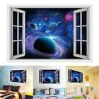 1PC 3D Outer Space Vinyl Art Home Decor Removable Galaxy Wal