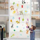 2018 NEW Number Alphabet Animals Insect Window Decals Wall S