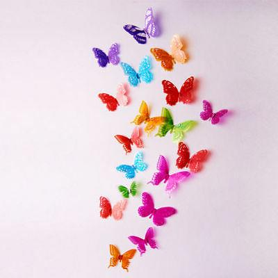 18pcs Colorful Wall Stickers Crystal R