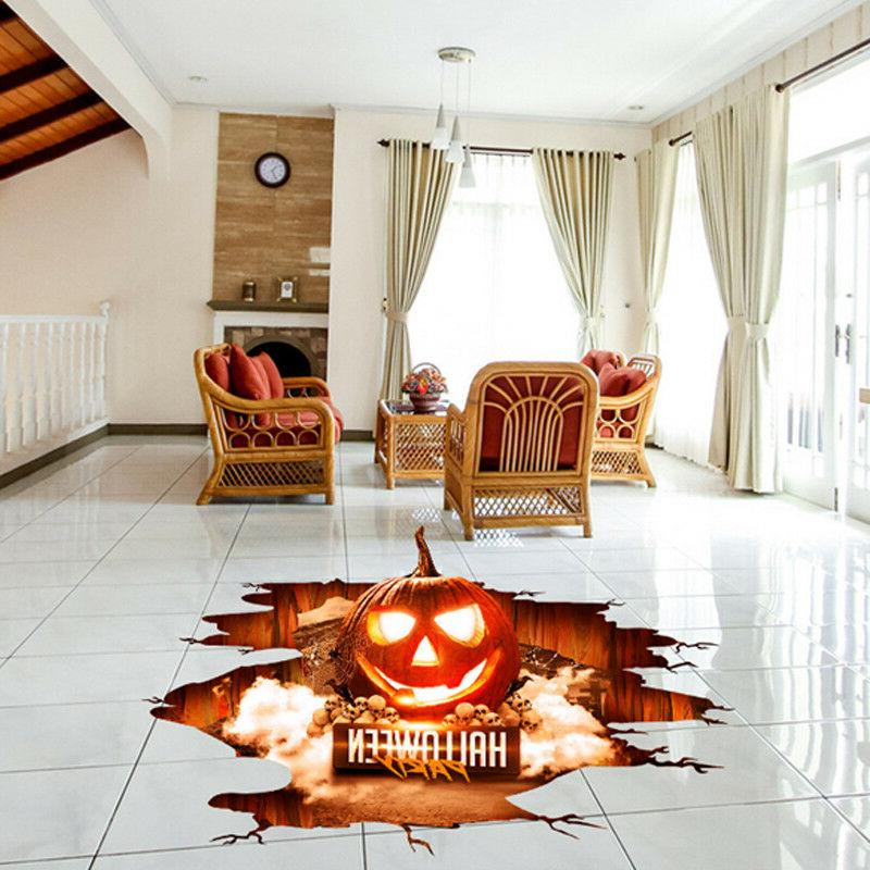 3D PVC Horror Scary Sticker Decor