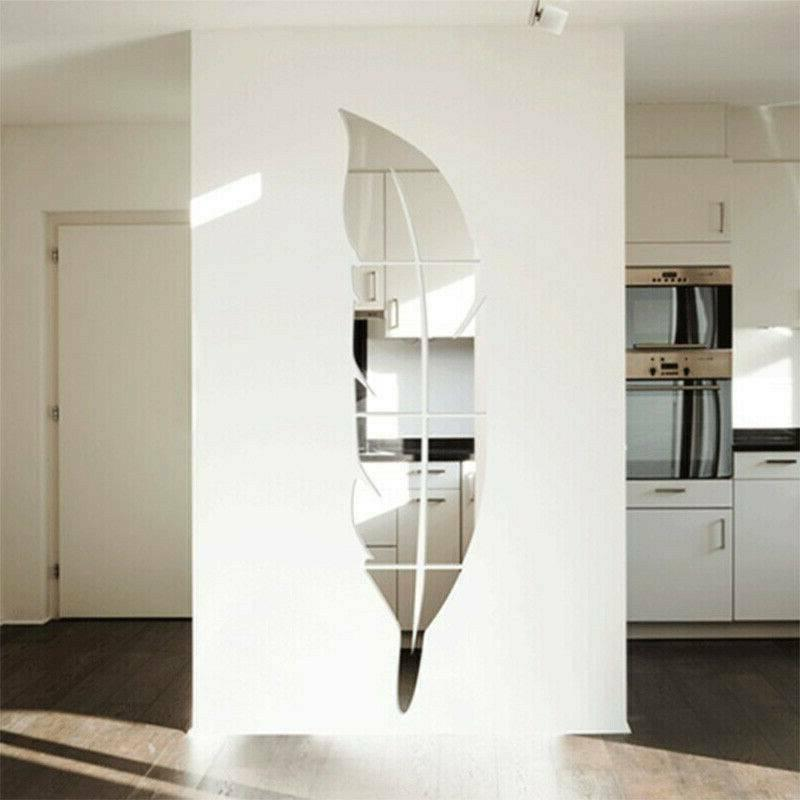 3D Removable Mirror Home Decal Vinyl Art Decor