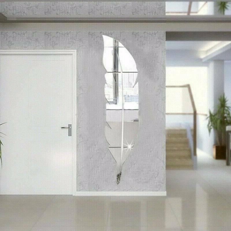 3D DIY Removable Mirror Room Vinyl Art Wall Decor