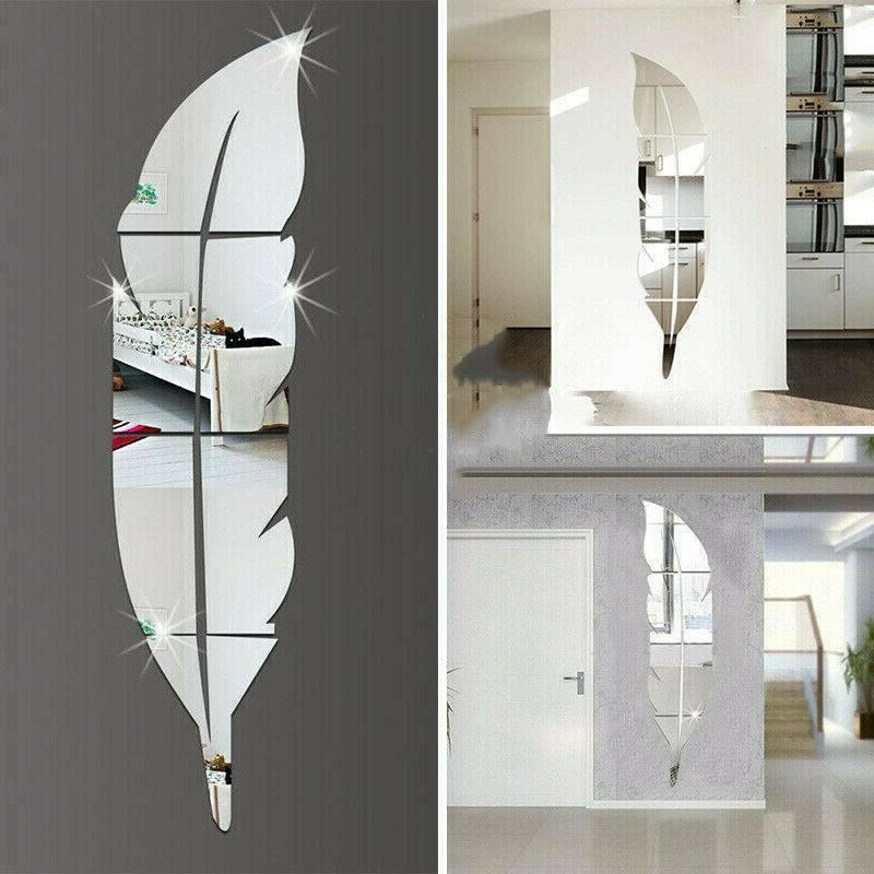 3D Removable Mirror Home Vinyl Decor US