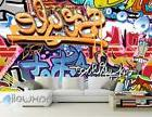 3D Graffiti Style Wall Art Mural Paper Print Decals Decor Wa
