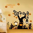 3D Halloween Pumpkin Lantern Wall Sticker Decals Wall Paper
