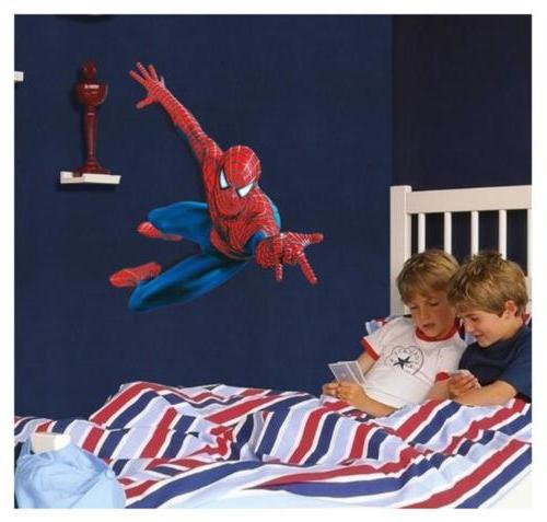 3D Spider Stickers Removable Art Decals Mural Home DIY