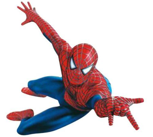 3d spider man wall stickers removable art