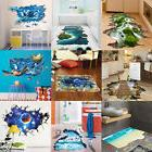 3D Style Floor/Wall Sticker Removable Mural Decals Vinyl Art
