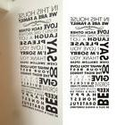 """50"""" In this house family rules vinyl wall sticker bedroom ho"""