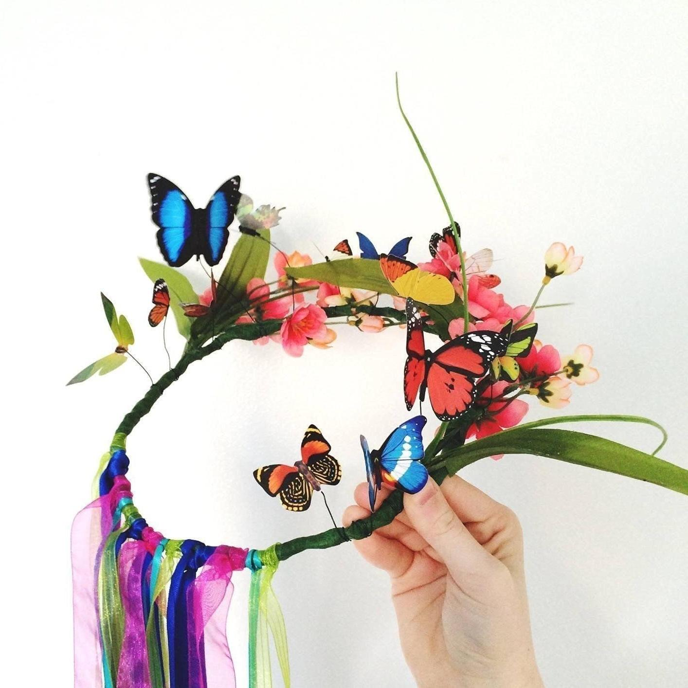 72pcs 3D Butterfly Stickers Living Room Decor