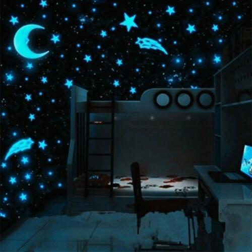 80pcs wall glow in the dark stars