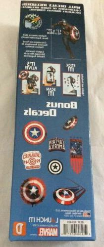 9 Captain America Wall Decals