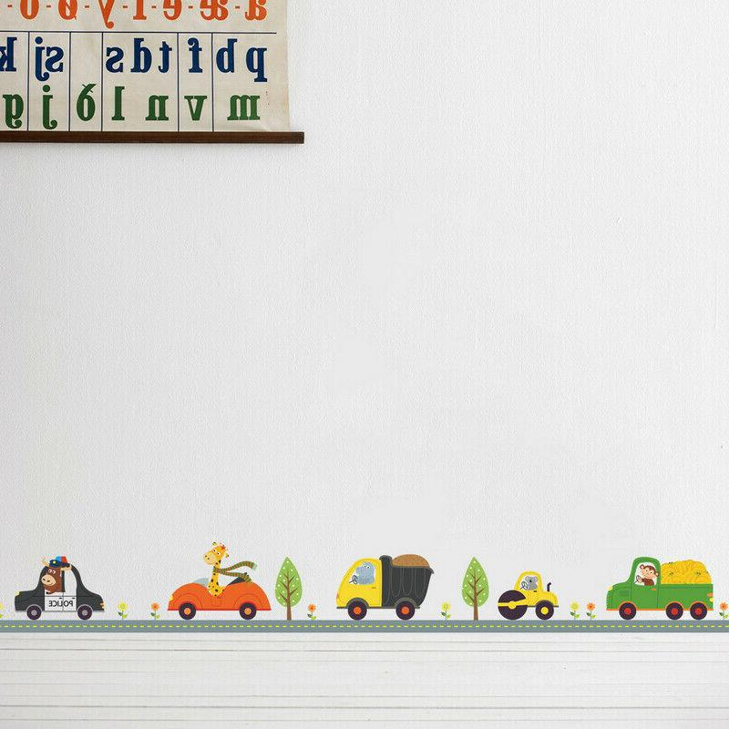 Animal Car Wall Stickers for Decor