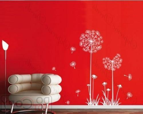 PopDecals - Dandelion - 39 in High - nursery wall decals tre