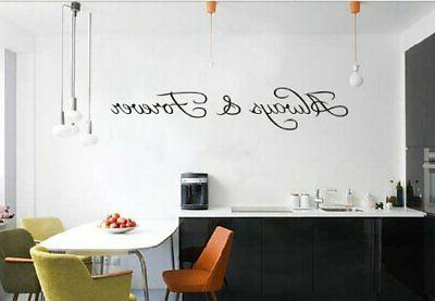 always and forever large wall decal sticker