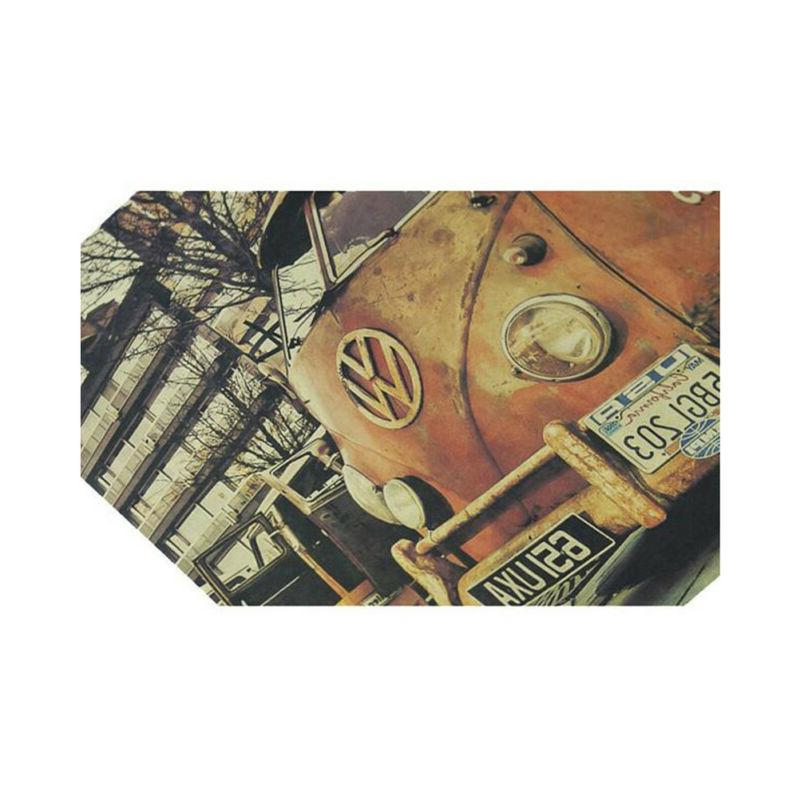 Antique Car Printed Old Style Poster Wall