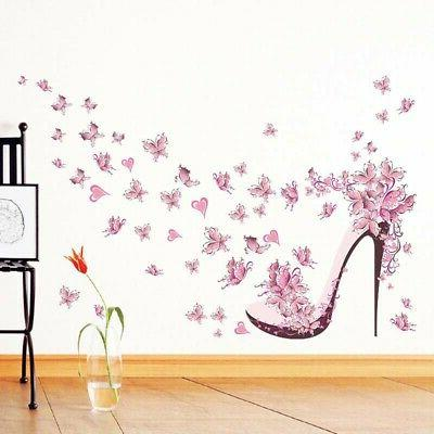 ART Removable Butterfly Tree Wall Stickers for Kids Rooms Ho