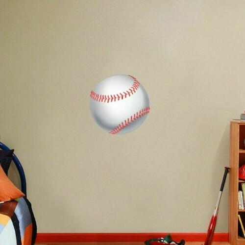 Baseball Printed Decal - Sports Room Man Cave Murals