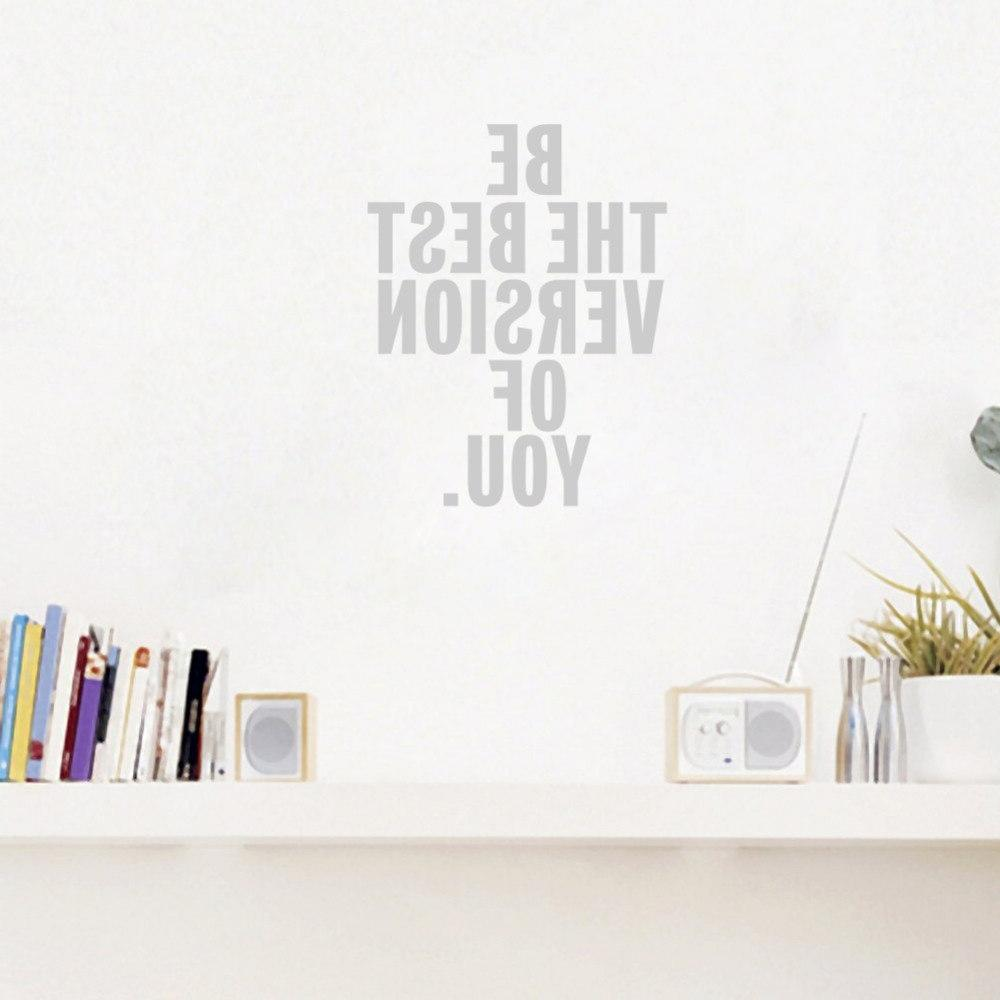 Be of Inspirational Vinyl Stickers Home Decoration