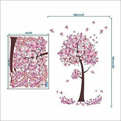 BIBITIME Butterfly Tree Wall Decals