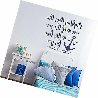 bible verse wall decal mightier than