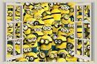 Carton Minions 3D Window View 2 Decal WALL STICKER Universal