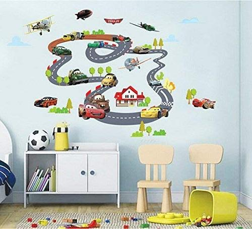 ufengke Racing Aircraft Decals, Room Nursery Stickers Murals
